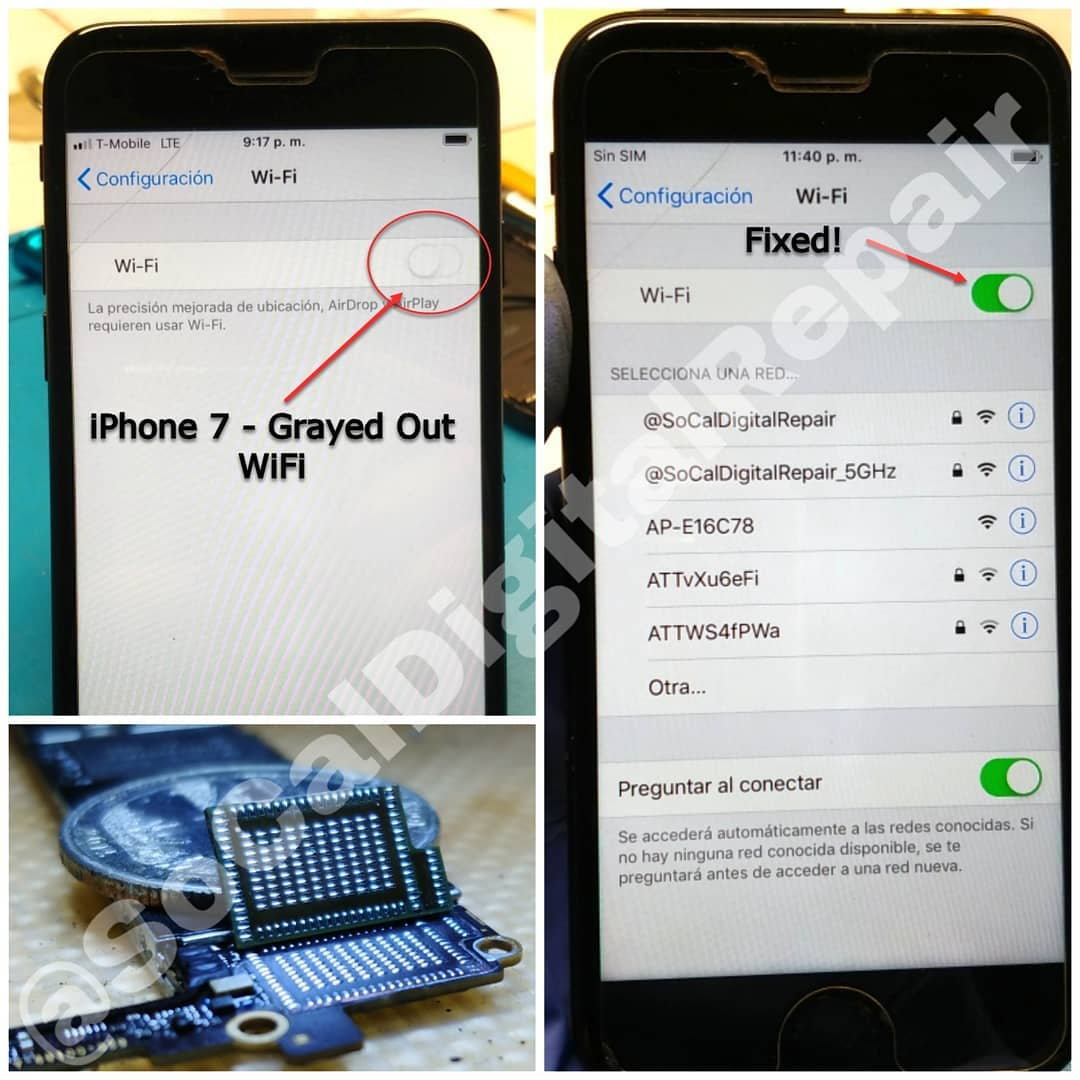 Is Your iPhone WIFI Grayed Out? - SoCal Digital Repair